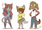 Family - Tiny Furrys 05 by playfurry
