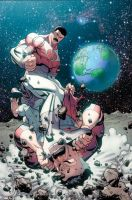 Invincible 102 cover by RyanOttley
