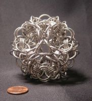 Hourglass Dodecahedron by BorosilicateArachnid