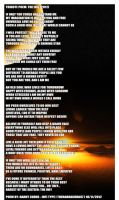 INFJ Poem Poster by TheBarracuda57