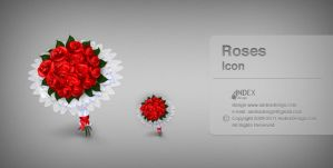 icon roses by AndexDesign