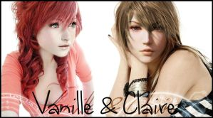 Vanille and Claire by FantasyRockGirl