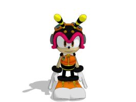 Sonic Generations Charmy for MMD by Sticklover4