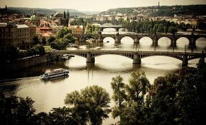 Prague bridges by photomak-by
