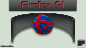 Firefox 4 soft icon by vi20RickrMetal12us