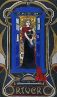 River Song - Art Nouveau by ephydriads