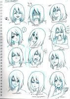 expression exercise by MarionetteBiri