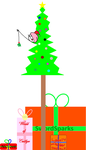 My thing for the 2015 Christmas Tree for NicLove by worldofcaitlyn