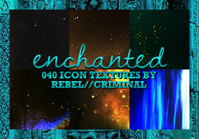 40 Enchanted Icon Textures by Rebel by rebelatlj