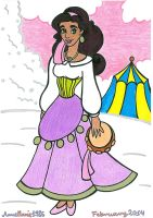 Winter Esmeralda by AnneMarie1986