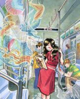 Ghosts of Japan by etcillustration