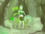 7days color challenge_forest spirit_day 4_green by Tsuuchiii
