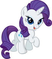 Chibi Rarity by Atmospark