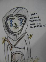 Assassin with hay fever by darklylightkayleigh
