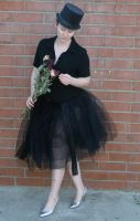black tutu 9 by PhoeebStock
