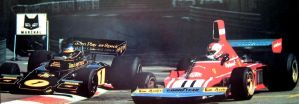 Ronnie Peterson | Clay Regazzoni (Monaco 1974) by F1-history