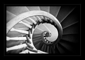 Spiral Staircase II by GVA