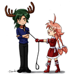 PT: Pull Your Own Damn Sleigh by amako-chan