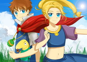 Ni no Kuni - Spring Breeze by MidnightSoiree