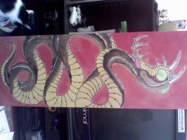 8 foot snake by TJKelly