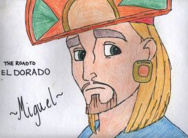 Miguel- Road to El Dorado by iFoxSpirit