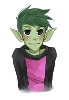 Beast Boy by drive-a-leaf