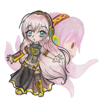 Pink-Haired Performer: Luka by ColeyCannoli