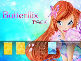 Winx 7: Butterflix Pack by MiaEnchantedFairy