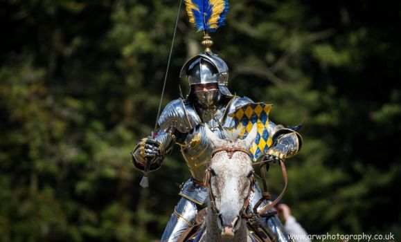The Full Weight Of A Charging Knight by MedievalJunkie