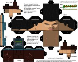 Jacob Black cubee by MysterMDD