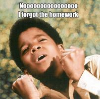 NOOOOOOO! Homework! ~Mj by MichaelJackson3000