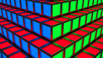 RGB Cubes Background Wallpaper HD by razfoil