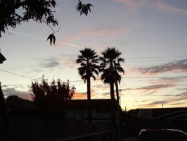 Christmas eve sky by milozilla