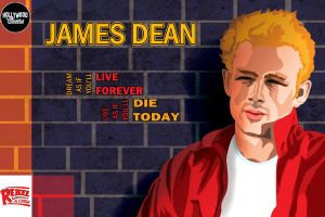 Postal Series - James Dean by caiobuca