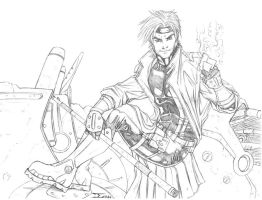 Gambit pencils by ELOart