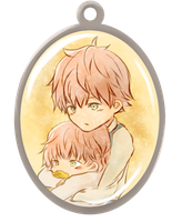Brothers' pendant by mikai02