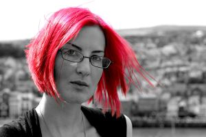 Missa the red head in Whitby by AshleySmith