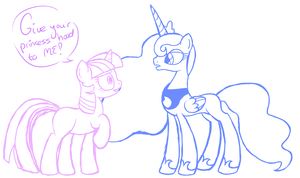 Give your princesshood to ME! by Norphy