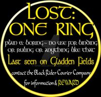 Lost: One Ring by whu-wei