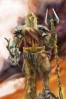 The Wookiee King by Navri