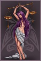 Libra commission by Harpyqueen