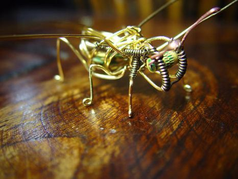 Steampunk Time Travel Bug by CatherinetteRings