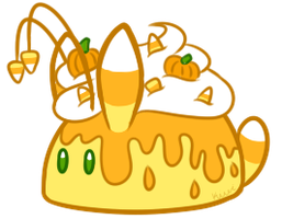 [CLOSED] Candy Corn Bunbon by Kiwicide