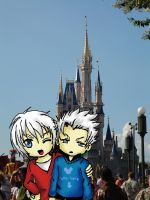 Dante and Vergil visit Disney by kyotoxo1