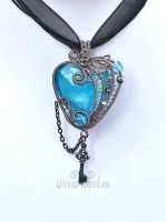 Steampunk heart with a key 5 by ukapala