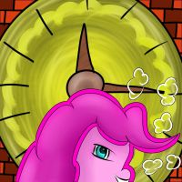 pinky clock by Kiros-Starflash