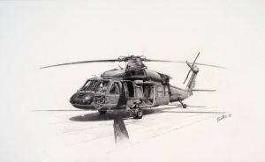 Black Hawk by Graphiticus