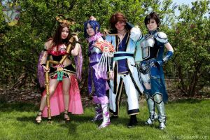 Dynasty Warriors Botanical Garden by Cosplay4FunUltimate