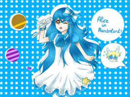 Alice in Randomland fanart by Aoi-chan01