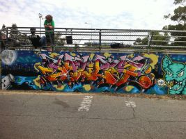 HQ wall 60 by PerthGraffScene